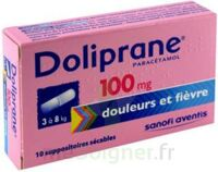 DOLIPRANE 100 mg Suppositoires sécables 2Plq/5 (10) à MONTPELLIER