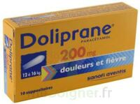 DOLIPRANE 200 mg Suppositoires 2Plq/5 (10) à MONTPELLIER