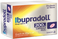 IBUPRADOLL 200 mg, capsule molle à MONTPELLIER
