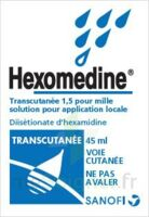 HEXOMEDINE TRANSCUTANEE 1,5 POUR MILLE, solution pour application locale à MONTPELLIER