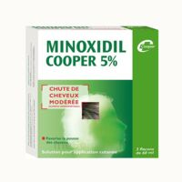 MINOXIDIL COOPER 5 %, solution pour application cutanée à MONTPELLIER
