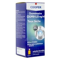 OXOMEMAZINE H3 SANTE 0,33 mg/ml SANS SUCRE, solution buvable édulcorée à l'acésulfame potassique à MONTPELLIER