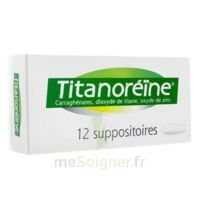 TITANOREINE Suppositoires B/12 à MONTPELLIER