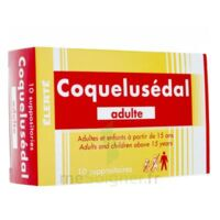COQUELUSEDAL ADULTES, suppositoire à MONTPELLIER